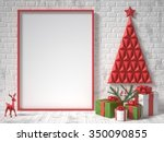 Mock Up Blank Picture Frame ...