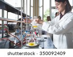 young medicine developer... | Shutterstock . vector #350092409