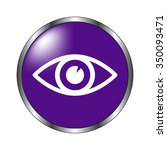 eye   vector icon  violet button