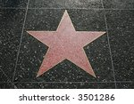 empty star on the hollywood... | Shutterstock . vector #3501286