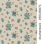 trendy seamless floral ditsy... | Shutterstock .eps vector #350130671