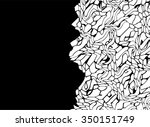 abstract shape background... | Shutterstock .eps vector #350151749