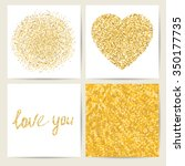 set of four card templates.... | Shutterstock .eps vector #350177735