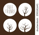 tree concept with eco icons... | Shutterstock .eps vector #350181641