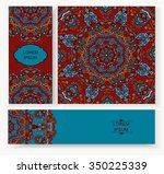 set card  flyer  banner with... | Shutterstock .eps vector #350225339
