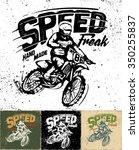 motorcycle motocross vector   Shutterstock .eps vector #350255837