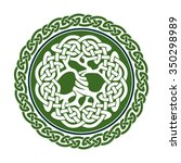 vector illustration of celtic... | Shutterstock .eps vector #350298989
