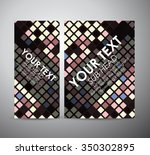 abstract colorful squares... | Shutterstock .eps vector #350302895