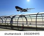 Airport Terminal  Gates...