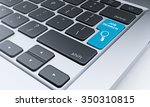 right fragment of a computer... | Shutterstock . vector #350310815