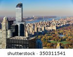 aerial view of central park in... | Shutterstock . vector #350311541