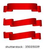 banners set.  vector... | Shutterstock .eps vector #35035039