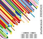 heart background | Shutterstock . vector #35035423