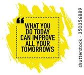 motivational poster design  ... | Shutterstock .eps vector #350356889