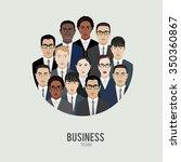 business team. group of office... | Shutterstock .eps vector #350360867
