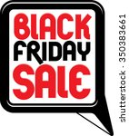 black friday promotion callout... | Shutterstock .eps vector #350383661