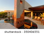 Architectural Features In Pool...