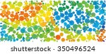 dotted colorful background in... | Shutterstock .eps vector #350496524