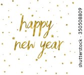 happy new year background with... | Shutterstock . vector #350508809