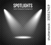 spotlight isolated on... | Shutterstock .eps vector #350517419