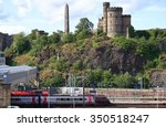 edinburgh  uk   july 18 2015  a ... | Shutterstock . vector #350518247