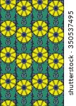 floral pattern | Shutterstock .eps vector #350537495