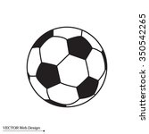 soccer ball icon | Shutterstock .eps vector #350542265