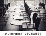lecture room with empty seats... | Shutterstock . vector #350560589
