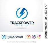 track power logo template... | Shutterstock .eps vector #350561177