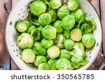 Fresh Organic Brussels Sprouts...