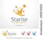star logo template design vector