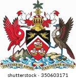 trinidad and tobago coat of arm | Shutterstock .eps vector #350603171