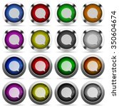 set of chat glossy web buttons. ...