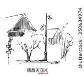 Azerbaijan Urban Sketch....