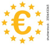 european union vector icon.... | Shutterstock .eps vector #350643365