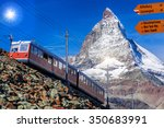 matterhorn with signpost...