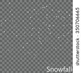 Isolated Snowfall Overlay  ...