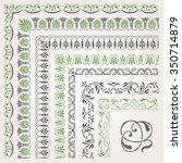 decorative seamless islamic...   Shutterstock .eps vector #350714879
