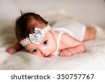 cute baby girl  | Shutterstock . vector #350757767