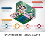 illustration of infographic... | Shutterstock .eps vector #350766245