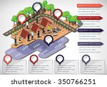 illustration of info graphic... | Shutterstock .eps vector #350766251