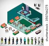 illustration of infographic... | Shutterstock .eps vector #350766275