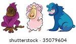 animal | Shutterstock .eps vector #35079604
