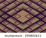 geometric ethnic pattern design ... | Shutterstock .eps vector #350802611
