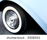 Baby Blue Classic Car