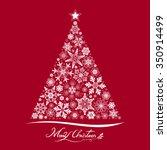 christmas tree | Shutterstock .eps vector #350914499