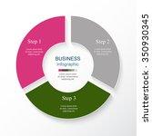 vector infographic. template...   Shutterstock .eps vector #350930345