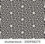 vector seamless black and white ... | Shutterstock .eps vector #350958275