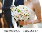 Nice Wedding Bouquet In Bride's ...