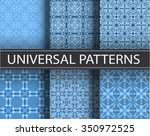 universal set vector seamless...